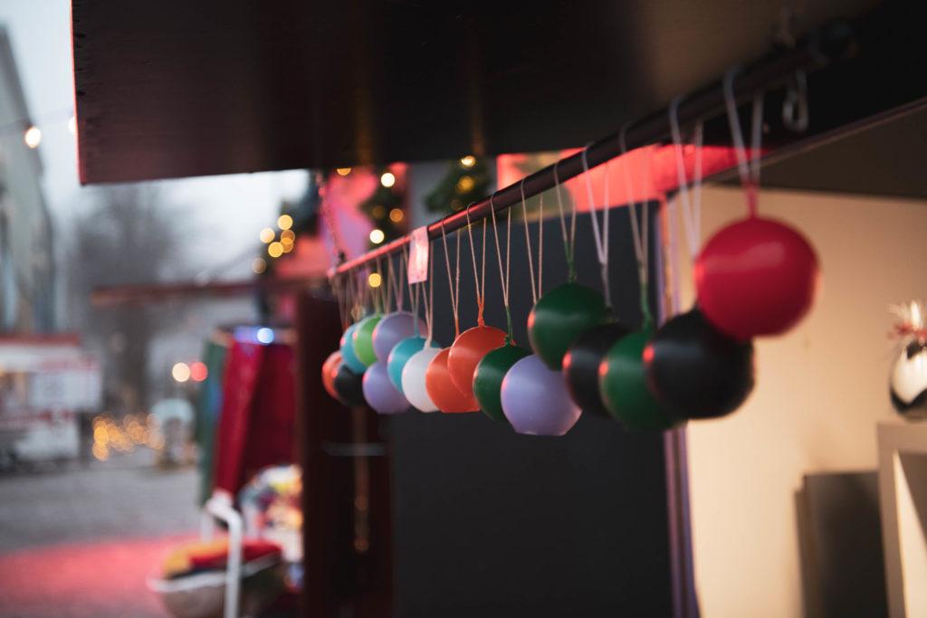 Kynttilöitä Joulukylässä